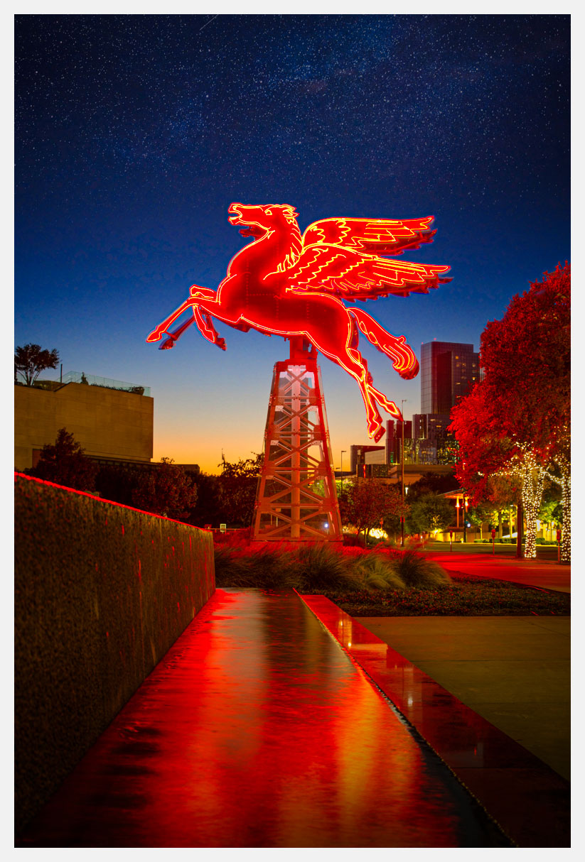 Pegasus Sign - Dallas, TX