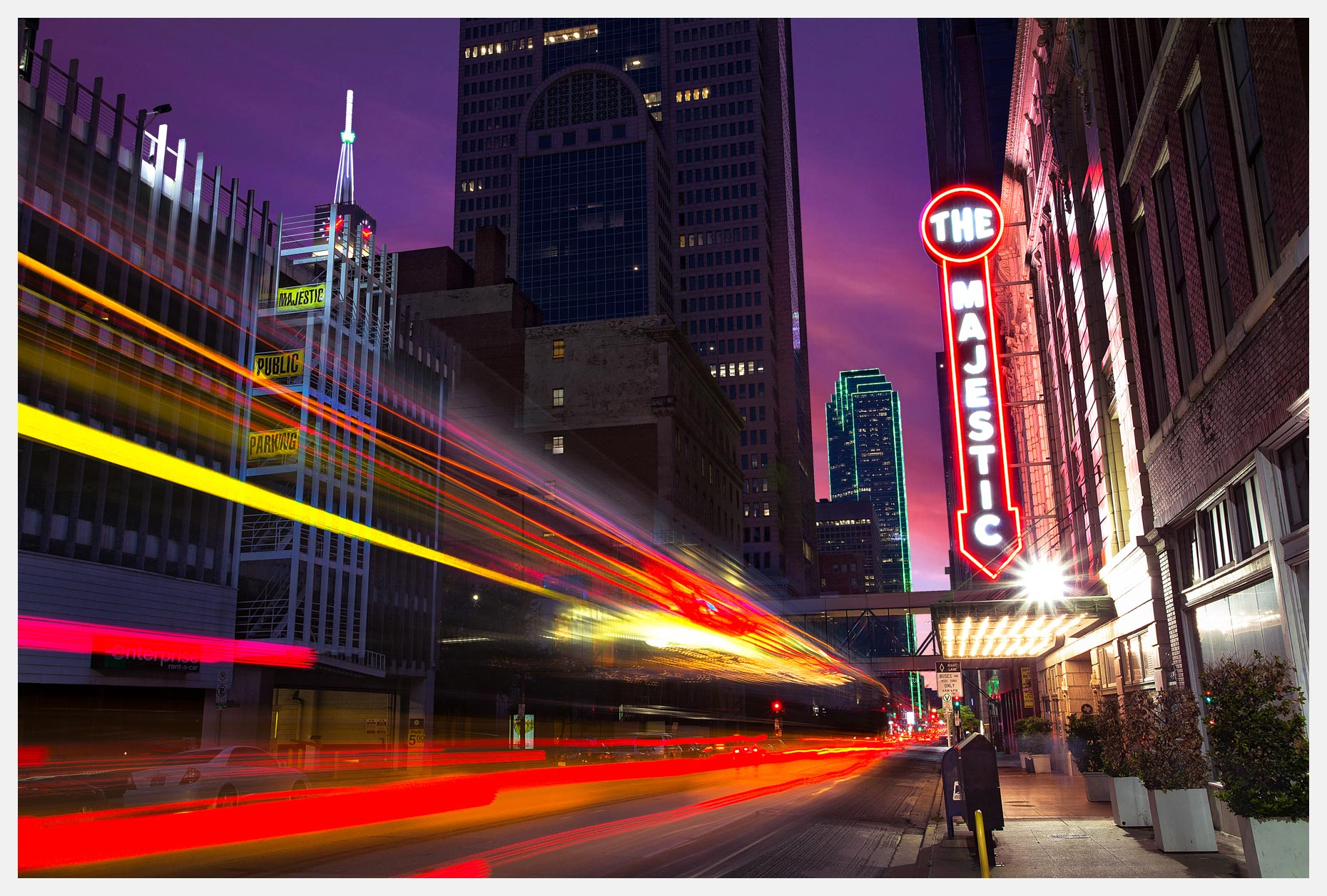 Dallas-Skyline-Majestic-Theater